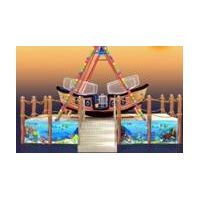 amusement park kid ride-pirate ship