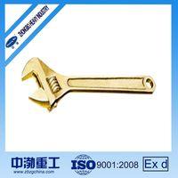 Aluminum or Beryllium Copper Alloy Adjustable Wrench,