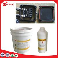 2 part electrically silicone conductive materials