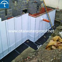 China factory supplied preapplied polyethylene damp proof membrane with ISO Certificate