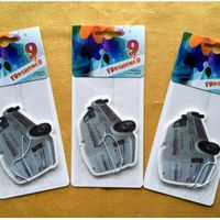 Customized Car Shaped Paper Air Freshener Gift Promotion