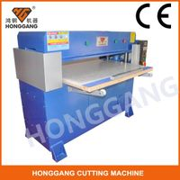 leather autofeeder hydraulic cutting machine