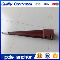 High Durable Building Blade Pile Screw Pole Anchor