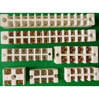 Steatite ceramic terminal block