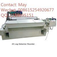 Shredder dust wood log rounder 4ft debarker machine thumbnail image
