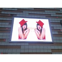 Outdoor High Brightness P10 Full Color LED Display Screens With IP65 Protection