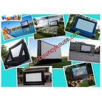 2011 hot sale inflatable movie screen / Advertising screen billboard / Screen products