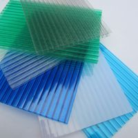 twin wall best quality Polycarbonate Greenhouse Panels for wholesale
