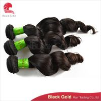 BGHAIR Product Loose Wave Brazilian Virgin Hair 12 to 28 inches Natural Color Silky Texture Hair Wea