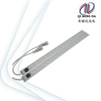 SMD5050 waterproof IP65 led rigid bar with switch