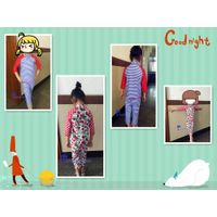 2017 Children's likable long sleeve and pants two piece surfing wear.