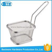 Stainless Steel Wire Mesh Mini Fryer Basket