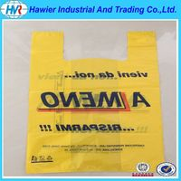 China Supplier t shirt PE plastic bags