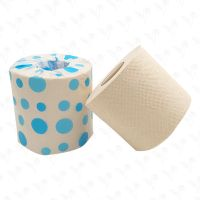 Factory Wholesale Virgin Bamboo Pulp Toilet Tissue Paper Roll for Household