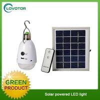 12pcs led light Solar power led flashlight with solar panel