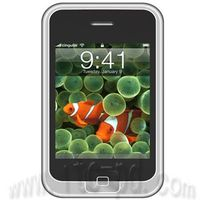 2.8 Inch Touch Screen MP4 Player with Camera (ITC-4H033)