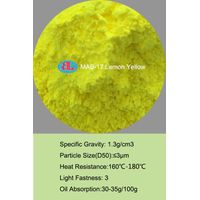 MAB-17 lemon yellow Fluorescent Pigment for coating