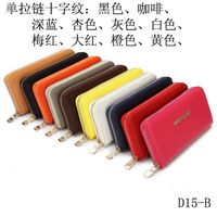Wholesale Brand New Leather Ladies Wallet Large Zip Around Wallet Multi Function Mk Woman Clutch Wal