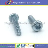 Slotted Torx Pan Head Trilobular Thread Forming Screws