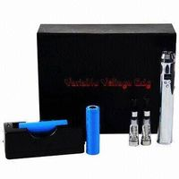 Variable Voltage Lava Tube Electronic Cigarette Starter Kits with 3 to 6V Voltage Range
