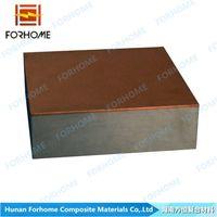 Metal dynamic clad metal plate