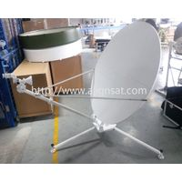 Alignsat 1.2m Ku Band Carbon Fiber Manual Flyaway Antenna