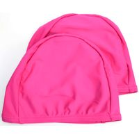 Adult Double Color Lycra Swimming Caps made by 80% nylon 20% spandex thumbnail image