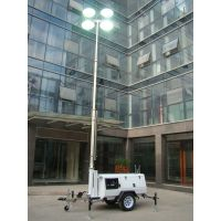 9m Mobile Light Tower 41000W with Kubota Engine Manual Operation(Double-end metal halide light) thumbnail image