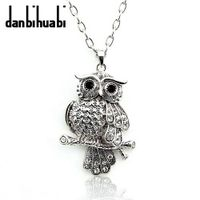 fashion jewelry ow animal pendants alloy necklace for christmas gift Nc012 thumbnail image