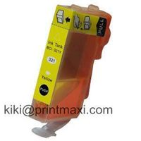(New) Compatible Color Ink Cartridge for Canon BCI-321Y  (With Chip)
