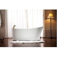 1700 mm Two Person Classic Acrylic free standing Bathtub