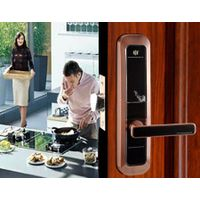 Zinc alloy Touch screen smart keyless digital electronic digital mechanical code door lock
