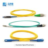 Fiber Optic Patch Cable FTTH Optical jumper LC SC FC ST APC/UPC with Customized length