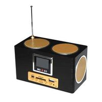 MD-D3 Multi-function Mobile Speaker Digital FM Radio