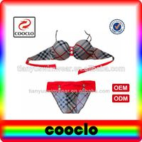 Good feel and sexy in the summer stripe style women's swimwear