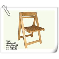 rubber wood ourside Chair (C-012) thumbnail image