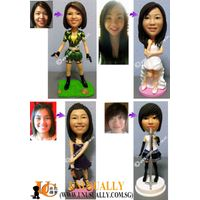 CUSTOM 3D FIGURINE THAT MADE TO LOOK LIKE U & YOUR LOVED ONES - PERFECT GIFT THAT SUIT ANY OCCASSION