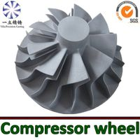 Aluminum alloy die casting compressor wheel used for diesel engine thumbnail image