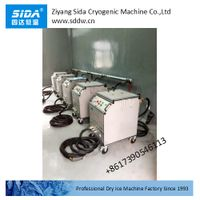 sida factory kbqx-30dg standard dry ice blasting machine for industrial cleaning thumbnail image