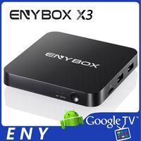 Quad Core Amlogic S905X Andorid 6.0 TV BOX 100M KODI 16.1 4K decpdong 2GB 16GB ENYBOX X3 4K S905X