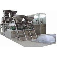 Batch Fertilizer Formulating Packing Line Fertilizer packing process
