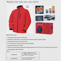 a  new  hightech  heated  function jacket