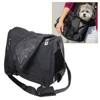 Black Messenger Bag Pet Carry Bag