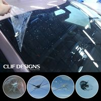 Clif Designs car window protection film scratch proof VLT 86 self adhesive sunroof panorama