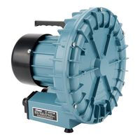 High pressure 120W industrial vortex ring air turbo pump fan blower