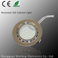 CE Certification Recessed Steel LED Cabinet Light