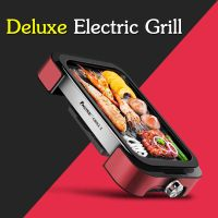 BBQ Grill Pan with Non-stick Surface BBQ Griddle Indoor and Outdoor with Top Quality