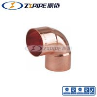 Copper fittings Red Copper fittings Reducing 90 Degree Elbow