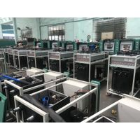 Box type industrial heat exchanger cooling system for plastic thumbnail image