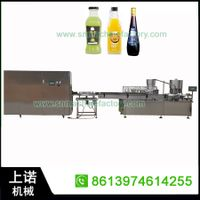 Shangnuo Glass bottle juice beverage filling production line